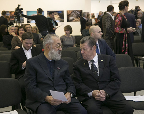 President of Association of Polar Explorers and Russian President's special representative for international cooperation in the Arctic and Antarctic Artur Chilingarov