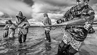 Sergei Anisimov's photos of Yamal residents