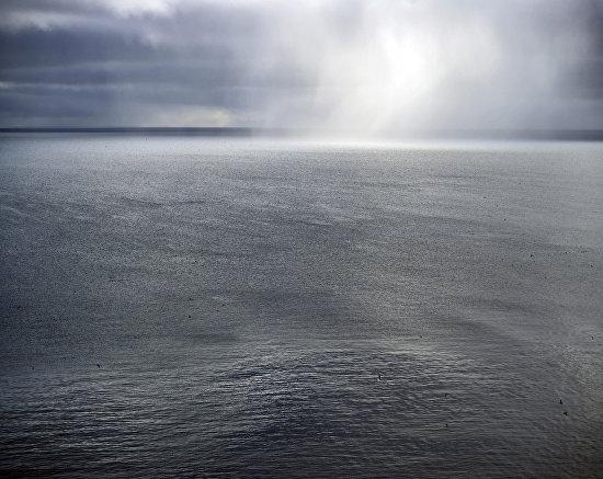 Погода над морем часто меняется. Новая Земля. 2015