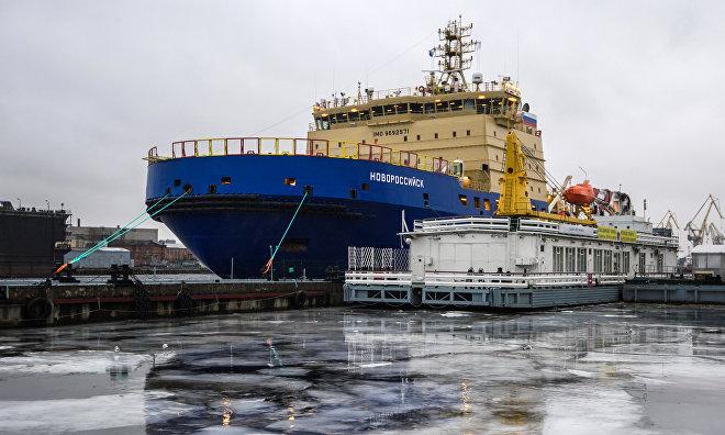 Новейший ледокол «Новороссийск» завершил первый поход в Арктику
