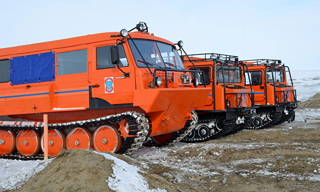 Defense Ministry begins testing new weapons in the Arctic