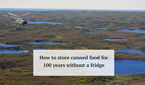 How to store canned food for 100 years without a fridge
