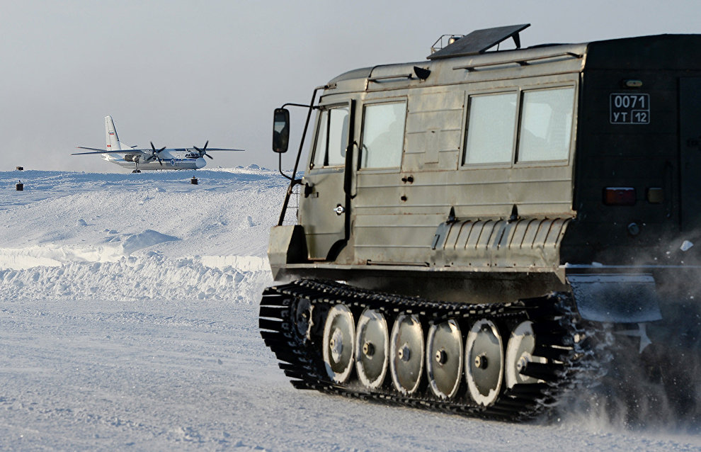 Russia begins tests of latest technology military equipment for Arctic