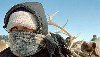 Expedition to Gydan Peninsula to study health of nomadic populace and reindeer breeding
