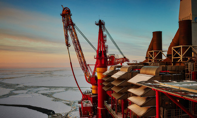 Arctic shelf hydrocarbon production to rise from 28 mln tons to 50 mln tons by 2035