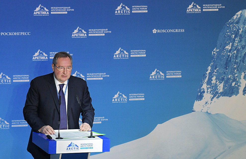 Rogozin: Northern Sea Route to handle up to 40 million metric tons by 2022