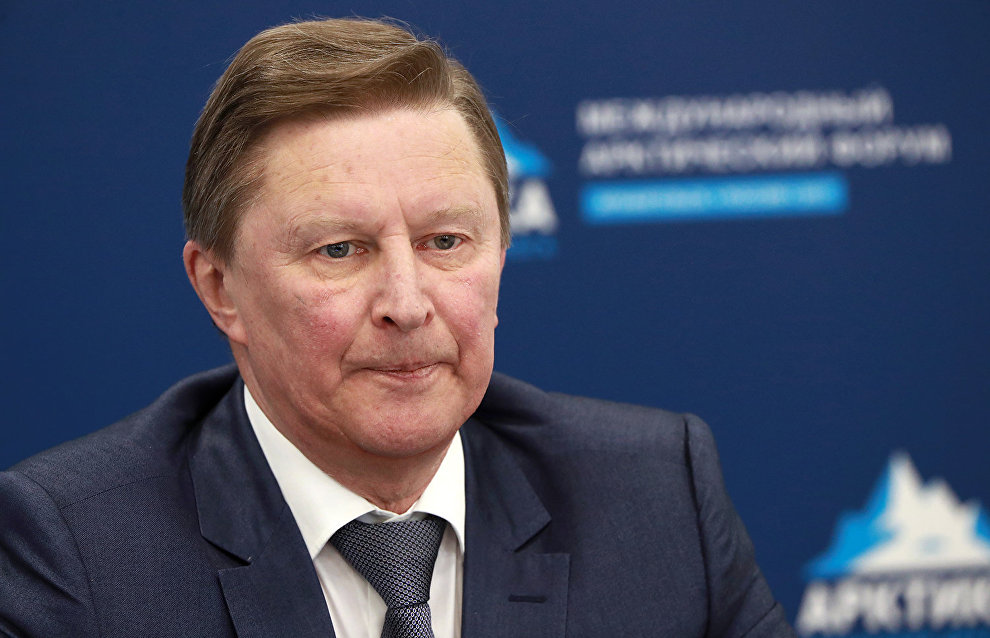 Sergei Ivanov: Environmental protection remains one of the few non-politicized issues
