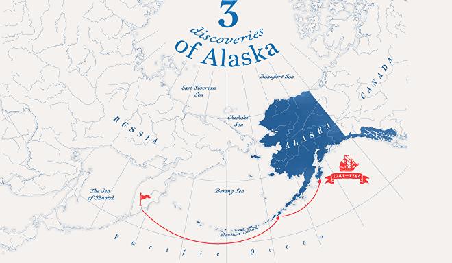 Инфографика Аляска - eng