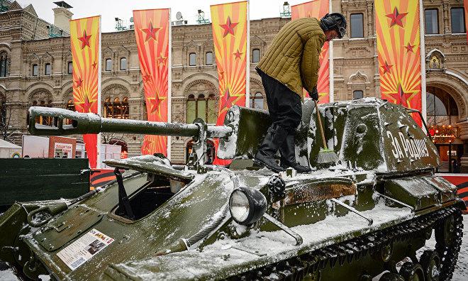 На параде Победы 9 Мая покажут арктическую военную технику