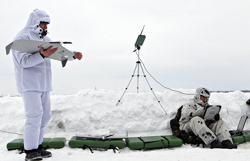 Military athlete expedition to test power stations and drones in the Arctic