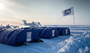 Aerospace Forces' military and transport aviation carry polar explorers and cargo to the Barneo station