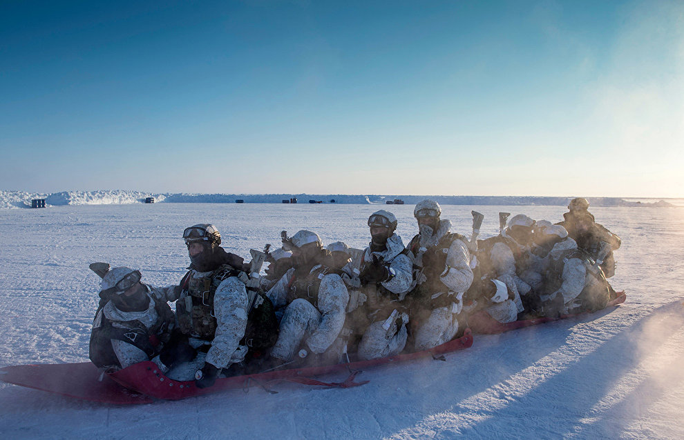 Defense Ministry expedition conducts Arctic research