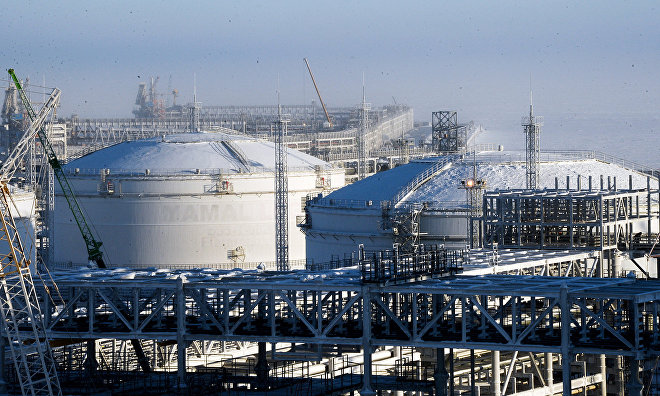 Designers, artists to compete for 40-meter high gas tank space at new Yamal LNG plant