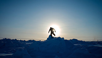 Arctic marathon: 42 km in the snow