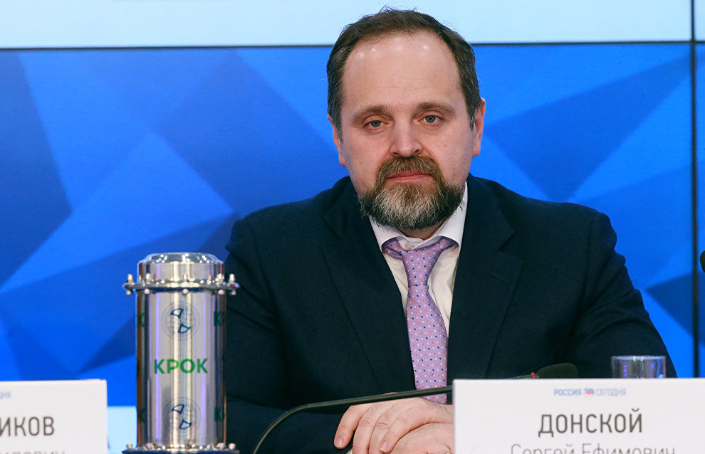 Sergei Donskoi: We plan to proceed with the drifting station project