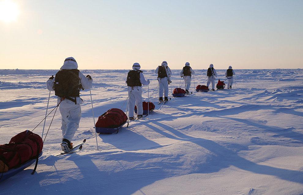 President congratulates Arctic specialists