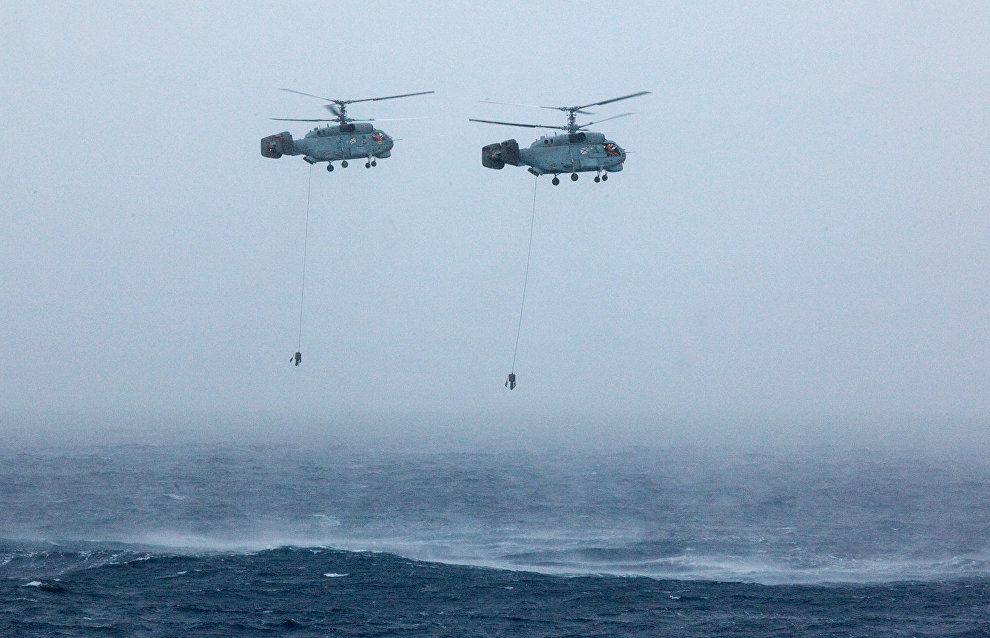 Russian-Norwegian rescue exercises underway in Barents Sea