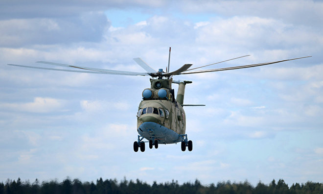 Eastern Military District army aircraft go on duty in the Arctic