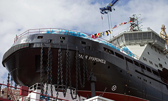 Ilya Muromets icebreaker to join Russia's Navy by year end