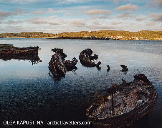 Barents Sea, village of Teriberka