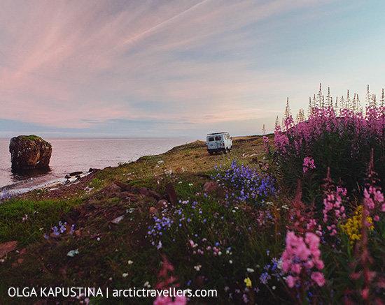 Берег Белого моря. Мыс Корабль