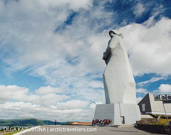 Мурманск, памятник Защитникам Заполярья