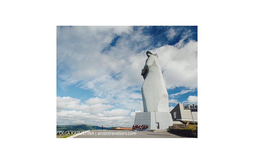 Murmansk, Monument of the Defenders of the Soviet Arctic