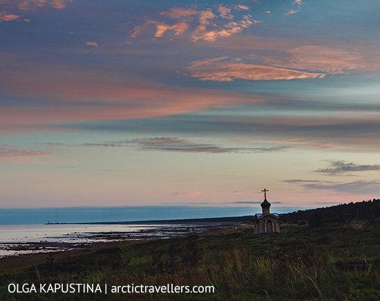 Часовня Безымянного Инока Терского, Белое море