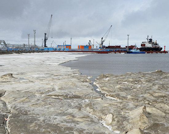 The Sabetta sea port
