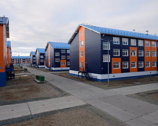 Sabetta workers' settlement in Yamal-Nenets Autonomous Area