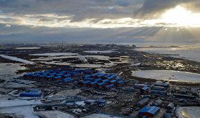 Строительство завода «Ямал СПГ» и морского порта «Сабетта»