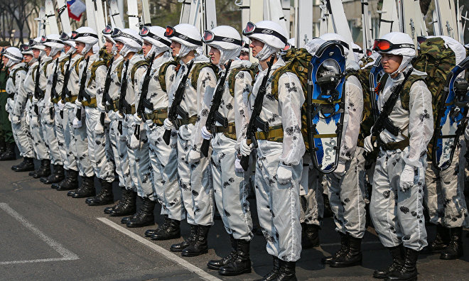 Far Eastern military school graduates first Arctic force officers