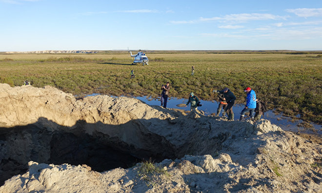 Yamal crater analysis could up new research horizons
