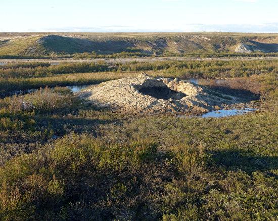 Исследование новых воронок на Ямале