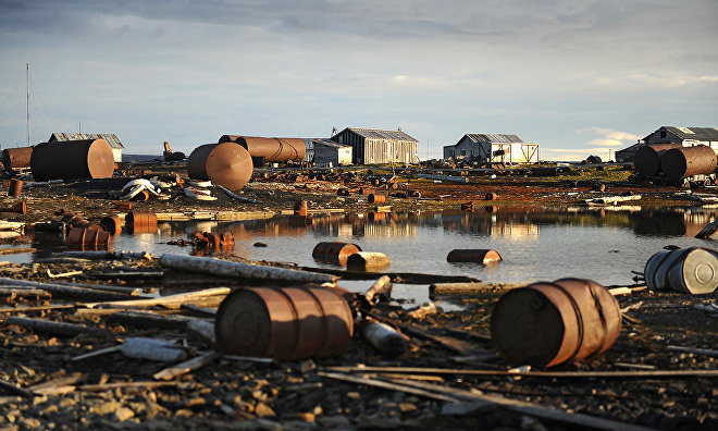 Military collects 1,100 tons of scrap metal in the Arctic