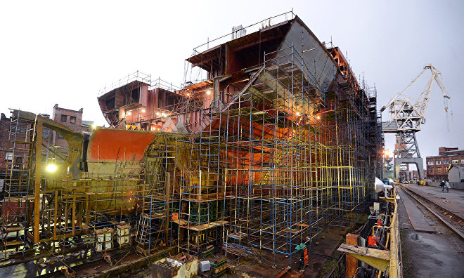The Sibir nuclear icebreaker to be launched in September