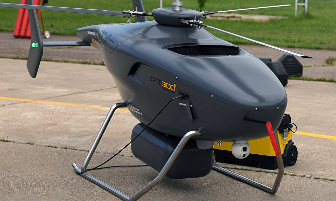 Arctic drone prototypes presented at MAKS airshow for the first time