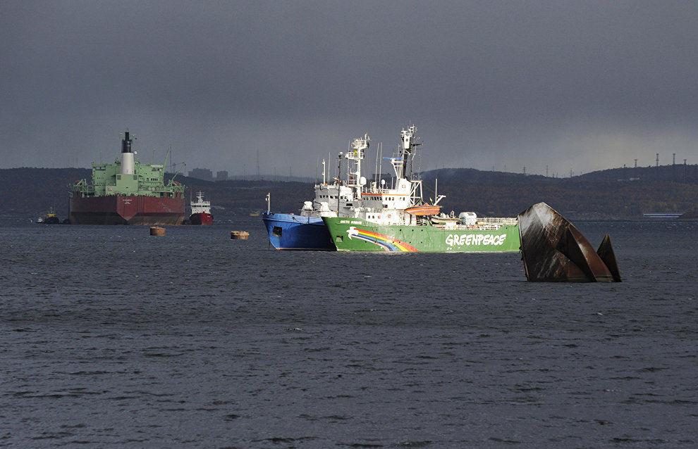 Russia to pay the Netherlands EUR 5.4mln for seizing Greenpeace ship