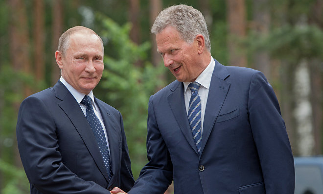 President Putin: Russia and Finland to expand Arctic cooperation