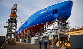 Nuclear-powered icebreaker Arktika 45% complete