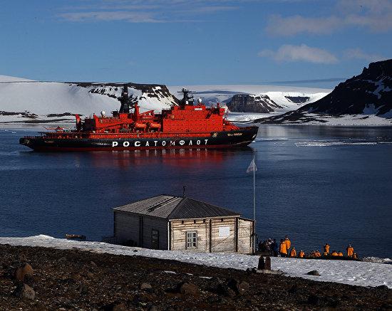 Работа на полярной станции «Бухта Тихая»