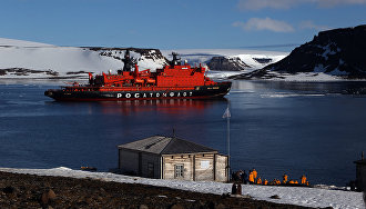 Tikhaya Bay polar station project