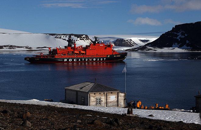 Tikhaya Bay polar station project