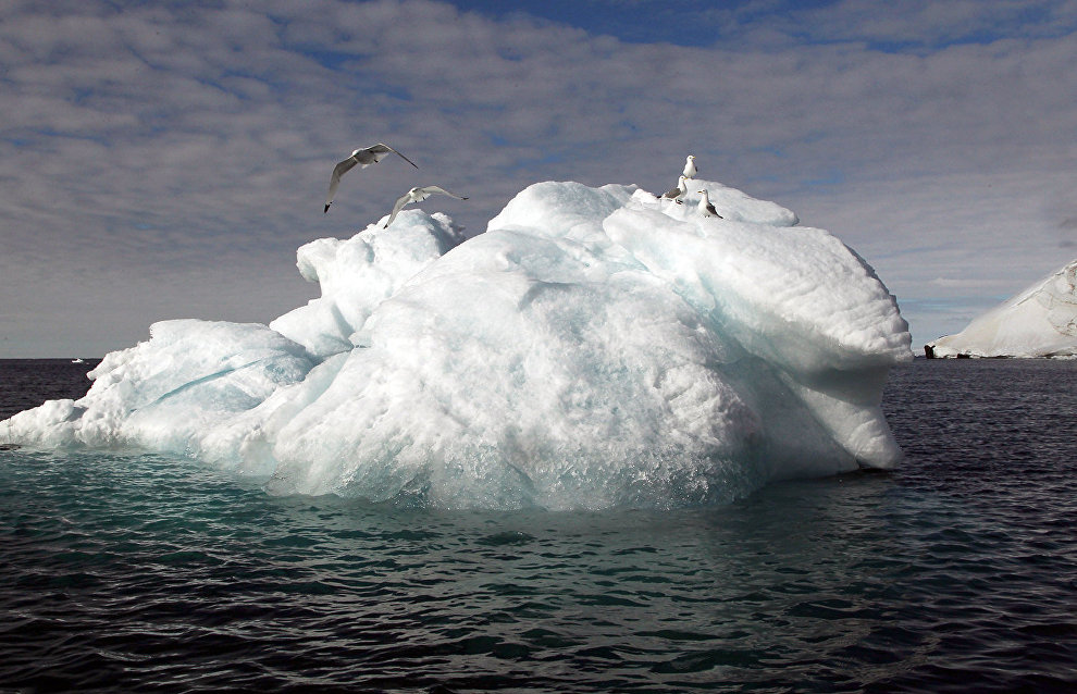 Underwater permafrost on the Arctic shelf melting faster than expected