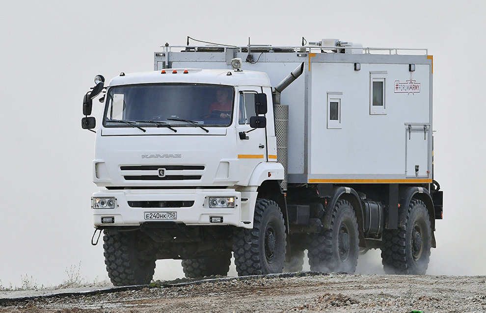 Russian Defense Ministry to get first 30 Arctic KAMAZ trucks in 2018