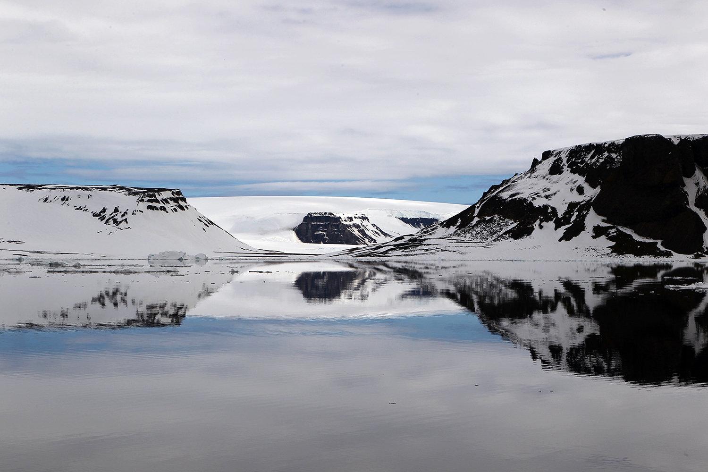 На одном из островов архипелага Земля Франца-Иосифа