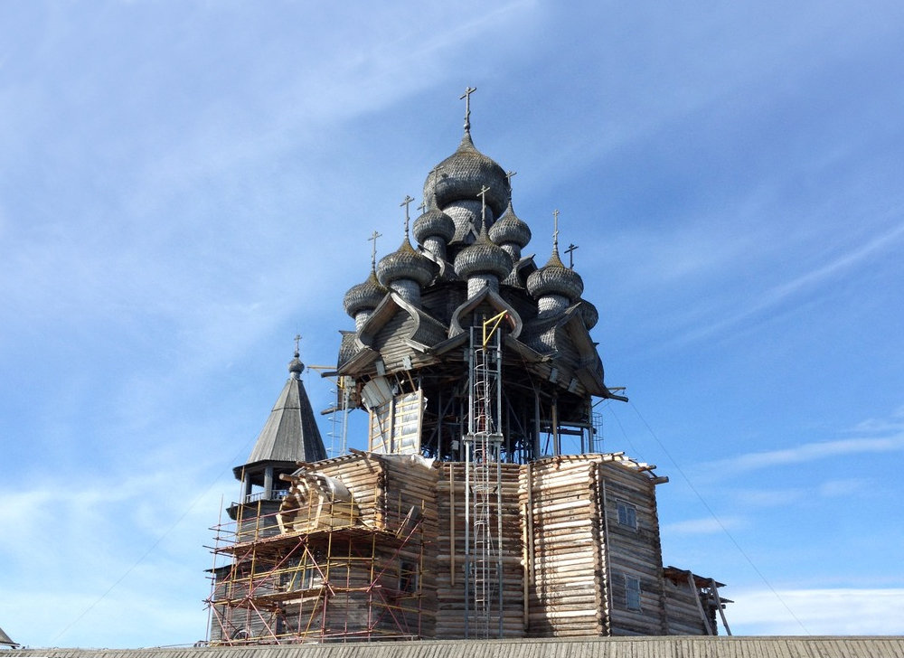 Restoring the Church of the Transfiguration of Our Lord in Kizhi