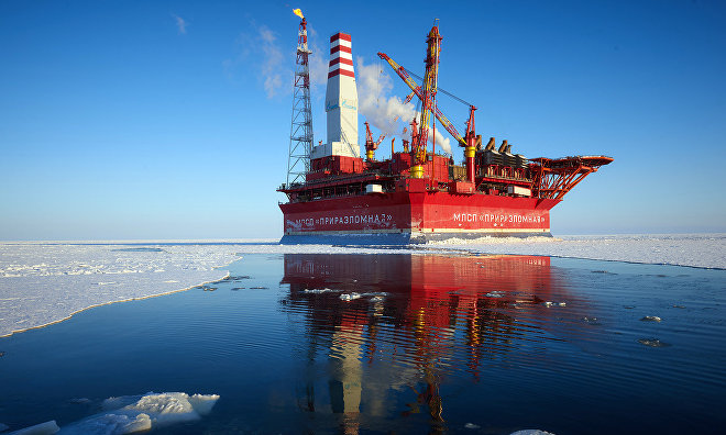 «Газпром нефть» планирует в 2018 году добыть на Приразломном свыше 3 млн т нефти