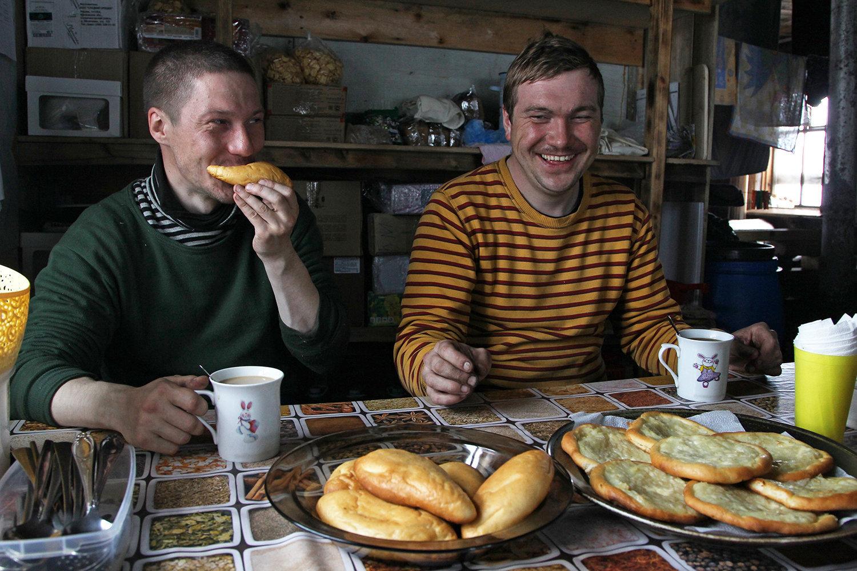 Inspectors of Russian Arctic National Park