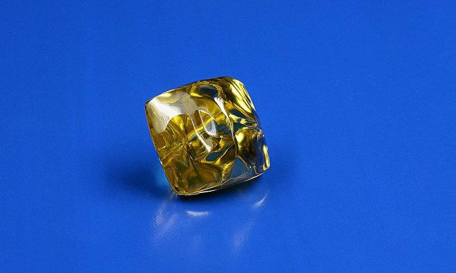 Unique 34.17-carat yellow diamond extracted in Yakutia
